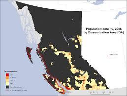 california map population density population density columbia 2006