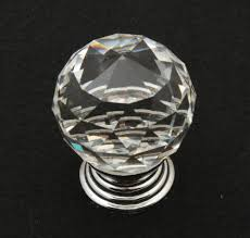 knobs or handles for kitchen cabinets k9 clear crystal knob chrome glitter knob kitchen cabinet knobs