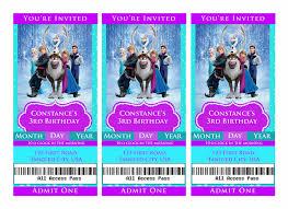 frozen movie birthday invitations disneyforever hd invitation