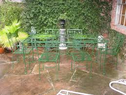 Rod Iron Patio Table And Chairs Vintage Wrought Iron Patio Table And Chairs Gccourt House