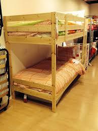 Mydal Bunk Bed Frame Mydal Bunk Bed Frame Pine Interior Design Bedroom Ideas On A