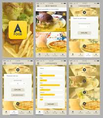 free finder app free ios restaurant finder app freepsd psd appdesigns more psd