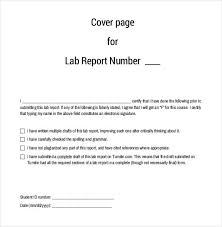lab report template word lab report title page format 68 images professional lab