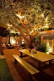 Outdoor Patio Lighting Ideas Pictures Outdoor Backyard Lighting Ideas Get Real Stunning Look With