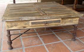 vintage wood coffee table coffee tables casa decor