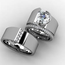 wedding bands sets his and hers wedding rings couples wedding ring sets lovable couples wedding