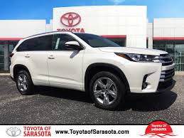 new 2017 toyota highlander limited 4d sport utility in sarasota