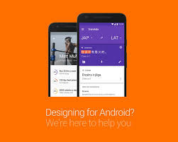 material design kit visual hierarchy