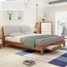 chambre mobilier de accueil lit mobilier de chambre meubles de maison nordique simple