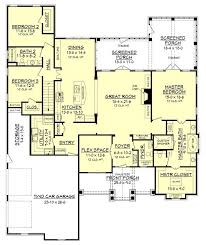 Craftsman Style Open Floor Plans 394 Best House Plans Images On Pinterest House Floor Plans
