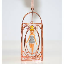 tinker bell in a cage ornament disneyland