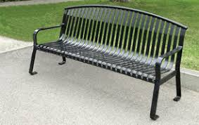 Park Benches Metal Armor Park Benches Metal Park Benches Belson Outdoors