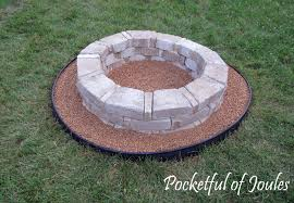 diy how to build a fancy fire pit dads round table