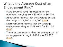 average engagement ring price what is the average cost of an engagement ring