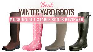 womens yard boots best winter yard boots mucking out stable boots reviewed