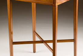 Yew Side Table Wood Occasional Table