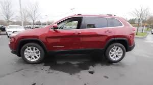 jeep red 2016 2016 jeep cherokee latitude deep cherry red gw187049 everett