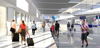Los Angeles Airport Terminal Map by Delta To Relocate Upgrade Operations At Lax Through 1 9b Plan