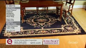 Qvc Area Rugs Rugs For Every Room Qvc Royal Palace Savonnerie 8 X 10 6