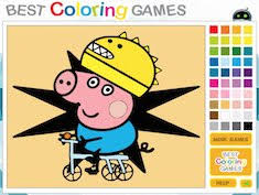 play coloring games free pomu