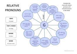 12 free esl relative clauses worksheets for proficient c2 level