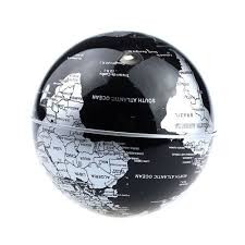 amazon com senders floating globe with led lights c shape