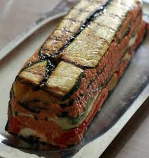 recette de cuisine d été terrine aux légumes d été chèvre et pesto de tomates confites les