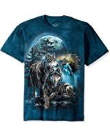 3 Wolf Moon Meme - com the mountain three wolf moon short sleeve tee clothing