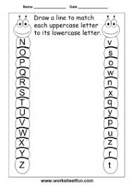 match uppercase and lowercase letters u2013 13 worksheets free