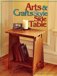 Arts And Crafts Nightstand Arts And Crafts Dining Table Plans U2022 Woodarchivist