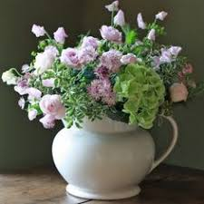 Real Flowers - the real flower company pink cottage garden bouquet http www