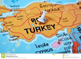 Istanbul Turkey Map Turkey Map Stock Photo Image 45776960