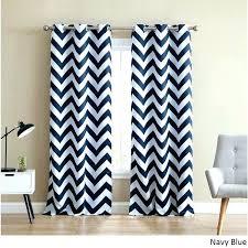 Navy Blue Chevron Curtains Chevron Print Curtains View In Gallery Living Room Chevron