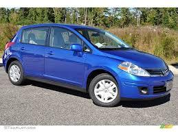 nissan versa blue 2009 metallic blue 2012 nissan versa 1 8 s hatchback exterior photo