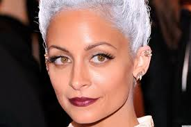 Nicole Richie Hair Extensions by Dare To Go Grey The Hottest Hair Trend For Spring 2015 Pics