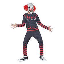 Scary Clown Halloween Costumes Men Boys U0027 Halloween Costumes Kmart