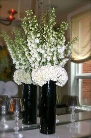 White Floral Arrangements Centerpieces by Table Scape Dahlia Red Pail Centerpiece Centerpieces And
