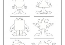 what shape am i worksheet with shapes 1st grade 2nd grade math