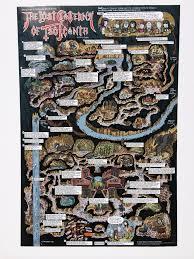 Tomb Of Horrors Map Walkthrough Map Collection 7 D U0026d Map Prints U2013 Mock Man Press