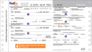 way bills online how to complete shipping labels and shipping documents fedex