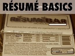 Resume Basics by Workshop