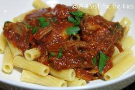 a feast for the eyes pork ragu pressure cooker style