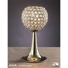 Small Table Lamp With Crystals Deluxe Crystal Table Lamps Ideas Worth To Install