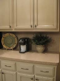 Cream Kitchen Cabinets With Glaze Kitchen Interior Kitchen Furniture Cherry Wooden Cabinet With