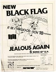 Black Flag Nervous Hake U0027s Punk Rock Concert Flyers Featuring Black Flag