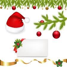 designer christmas ornaments christmas lights vector christmas