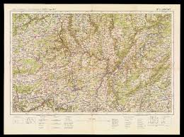 Endeavor Air Route Map by Section Four Military Maps Osher Map Library