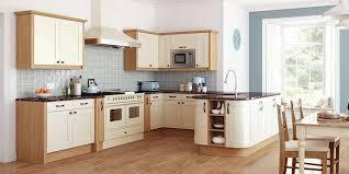 ivory kitchen ideas ivory and oak kitchen with blues kitchen kitchen