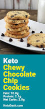 chewy keto chocolate chip cookies keto recipe