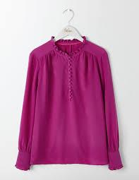 purple silk blouse ella silk blouse endource
